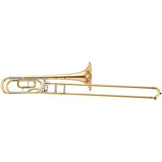 Trombone YAMAHA 448GE sib/fa «complet» - Photo 1